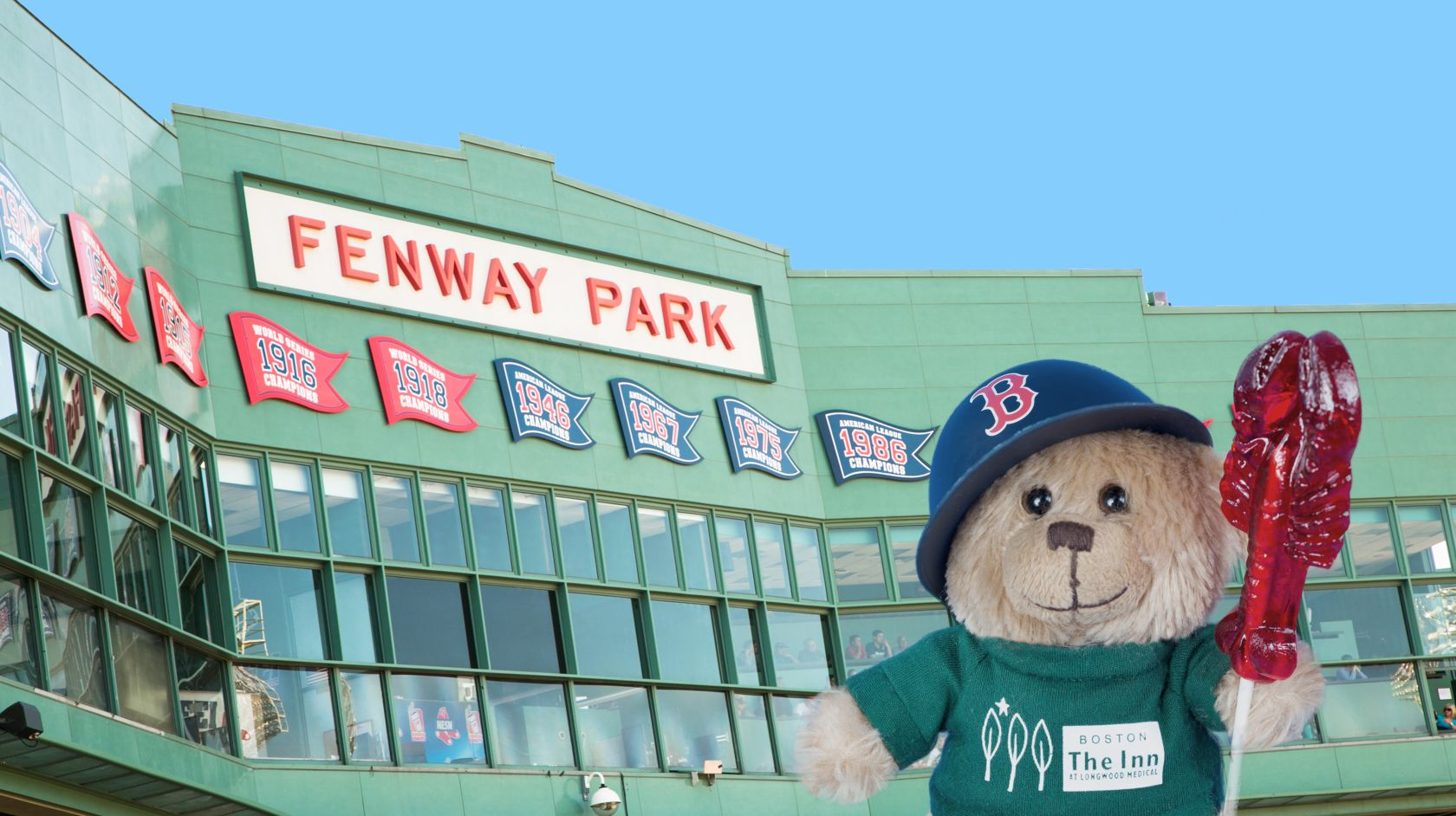 hope the bear at fenway park